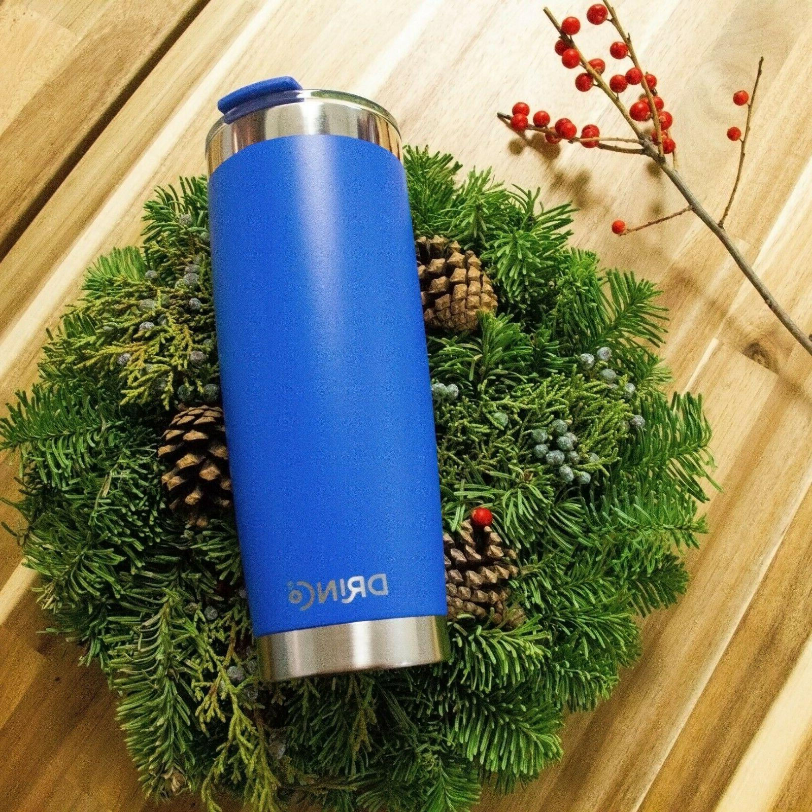 Stainless Steel Tumbler Vacuum Travel Mug with Splash Proof