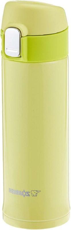 Zojirushi Stainless Vacuum Mug, 10 oz/0.30 L, Lime Yellow