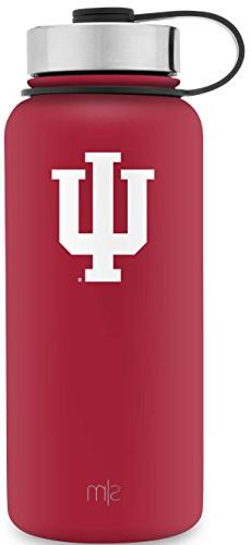 Simple Modern 32oz Summit Water Bottle - Indiana Hoosiers Va