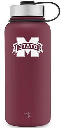 Simple Modern 32oz Summit Water Bottle - Mississippi State B