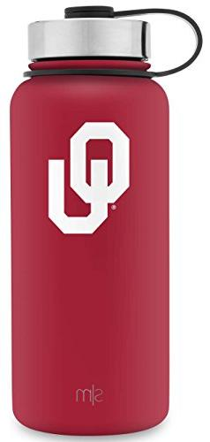 Simple Modern 32oz Summit Water Bottle - Oklahoma Sooners Va