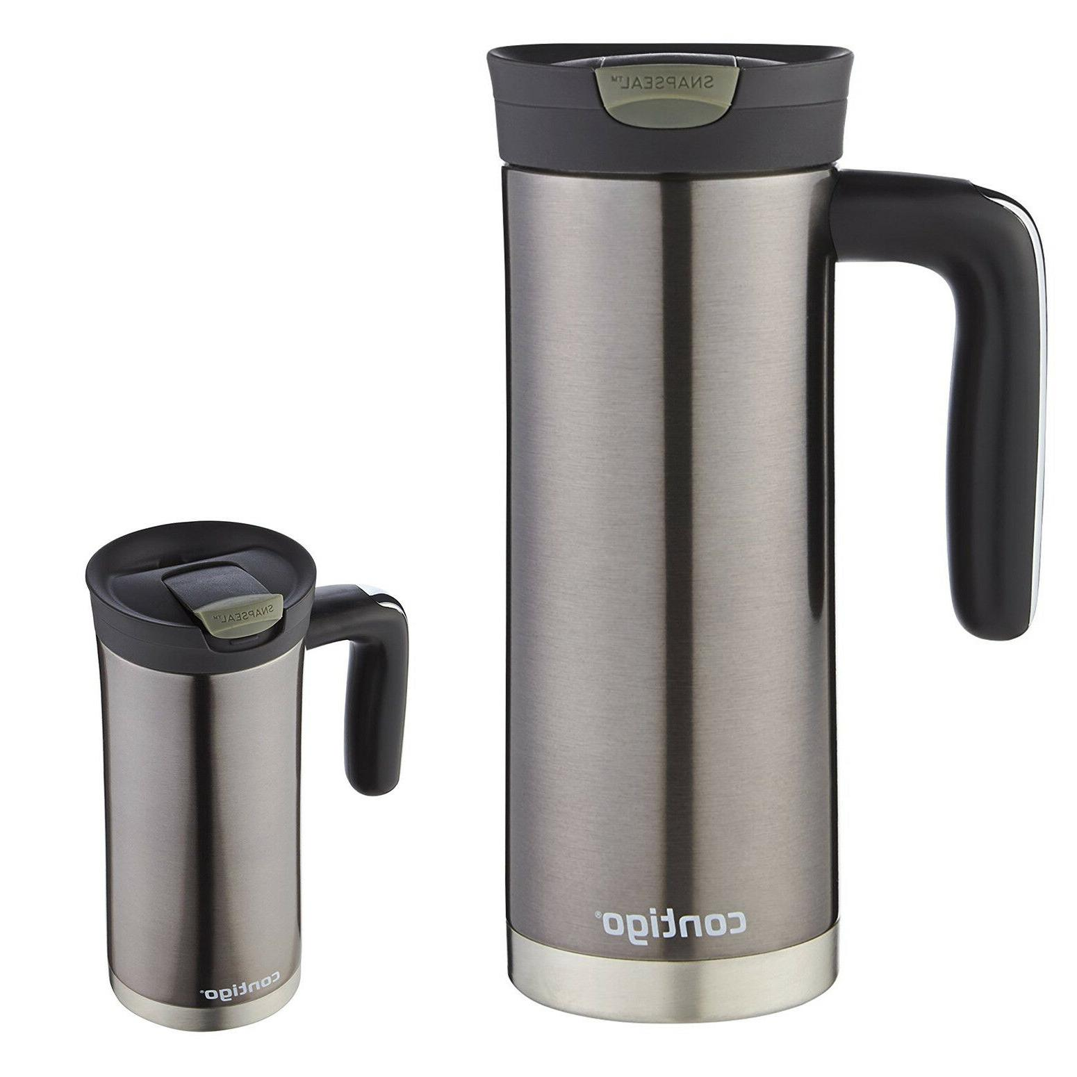 Contigo 20 oz. Superior Snap Seal Stainless Steel Tumbler -