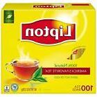 Lipton Tea Bags 100 % Natural Tea Original Regular 100 Count
