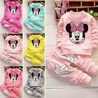 2Pcs Toddler Kid Baby Girls Long Sleeve Outfits Set Sweatshi