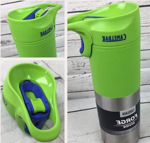 CamelBak Travel Mug Insulated Forge Divide 16oz Green Apple
