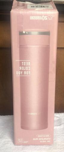 * Travel Mug - Lavender Pink *16 oz . Zojirushi SM-KHE48-P