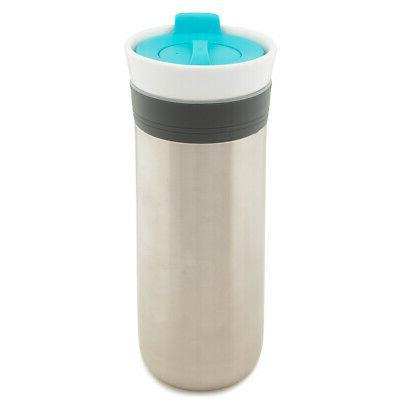 triple insulated travel mug stainless steel ceramic
