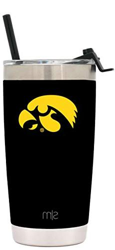 Simple Modern University of Iowa 20oz Cruiser Tumbler with S
