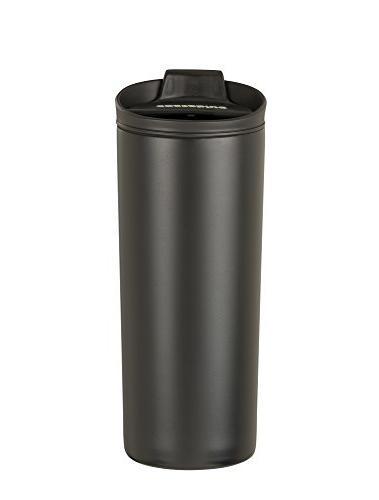 Costablue Steel Travel 16 Oz Easy clean and proof lid, Black
