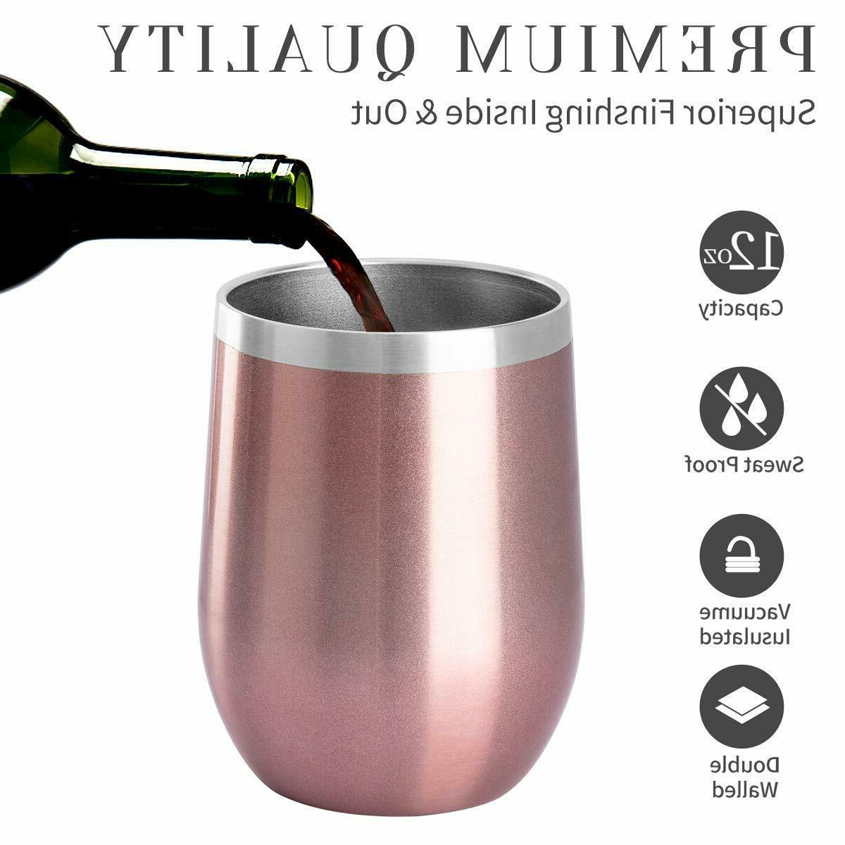 Vacuum Insulated Tumbler Rambler Cup Lid Coffee