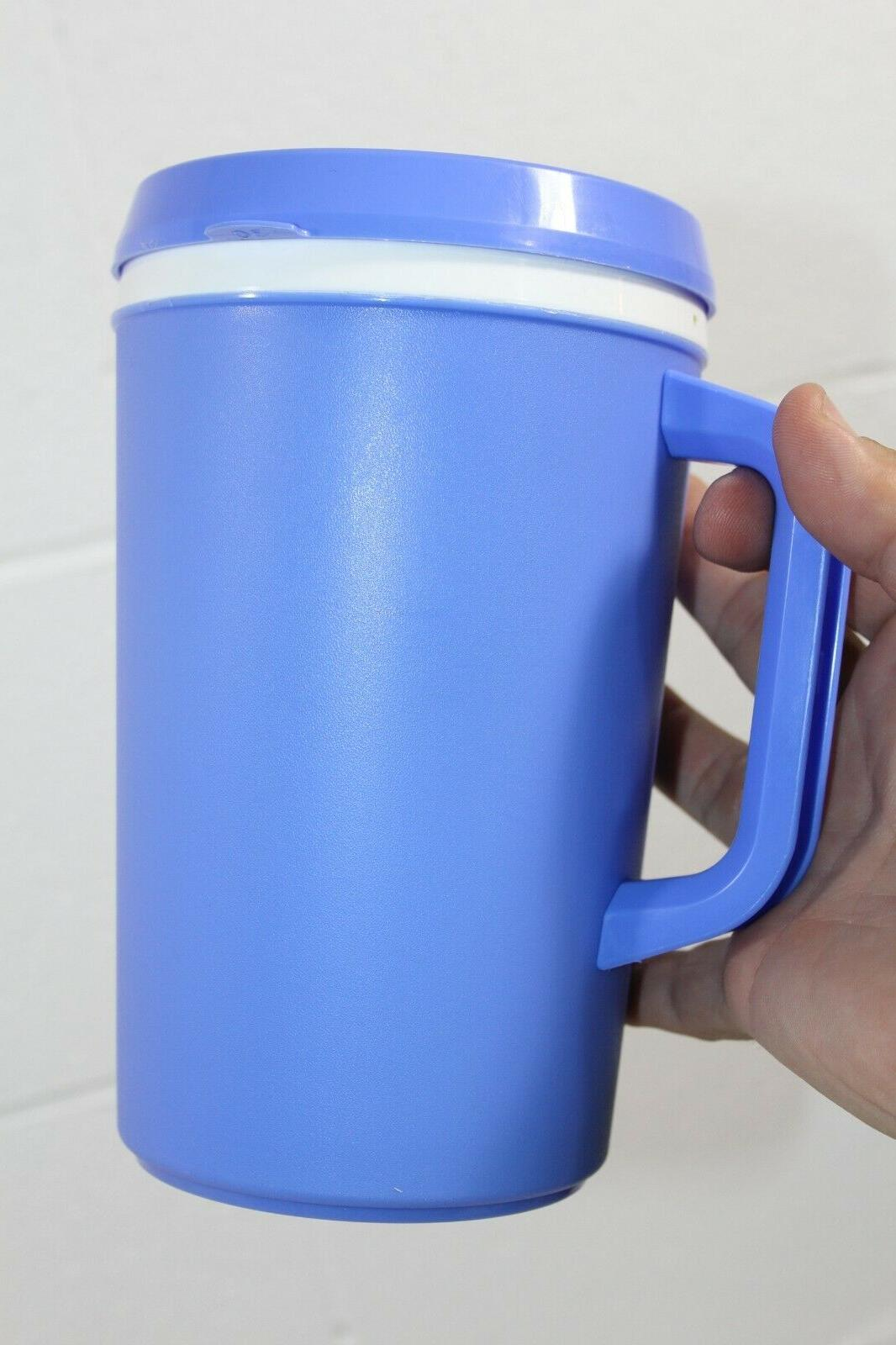 Vintage oz Aladdin Coffee Cup Blue NOS
