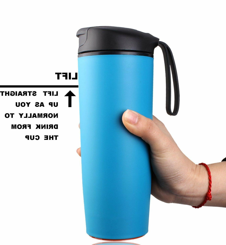 Water Bottle Mug Leak Mug Insulated Suction