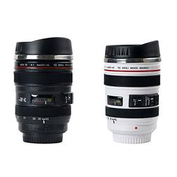 Camera Lens Coffee Mug Stainless Steel Insulated Tumbler Cup
