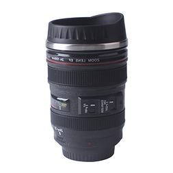 Coffee Mug, Beinhome Camera Lens Travel Thermos, Stainless S