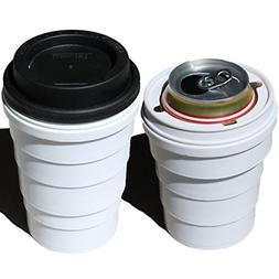 Trinken Lid and Collapsible Cup Coozie - Hide Your Beverage