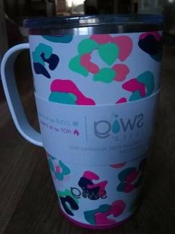 Swig Life 18oz Triple Insulated Travel Mug with Handle and L