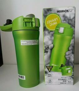 * Travel Mug -16 oz- Lime Green * .Zojirushi SM-YAE48-GA Sta