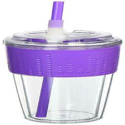 Copco Lock-N-Roll Travel Tumbler With Non Slip Grip Band And