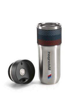 BMW M Motorsport Thermo Coffee Travel Mug OEM 80232461130