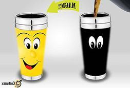 Magic Coffee Mugs Travel Mug Heat Sensitive Color Changing S