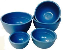 Mario Batali 5-piece Measuring Prep Bowl Set, Country Blue b