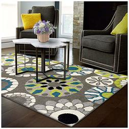 Superior Medallion Collection Area Rug, 6mm Pile Height with