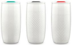 Ello Mesa 14 oz Double Wall BPA-Free Ceramic Tumbler with Li