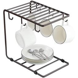 JUKER Metal Wire Coffee Mug Cup Holder Rack Organizer Stand
