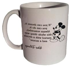 """Mickey Mouse Disney """"If You Can Dream It, You Can Do It"""" Quo"""