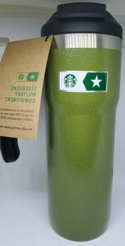 Starbucks Military Commitment Stainless Steel Green Travel M