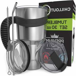 Travel Mug Stainless Steel Tumbler Hot Coffee Large Cup Hand
