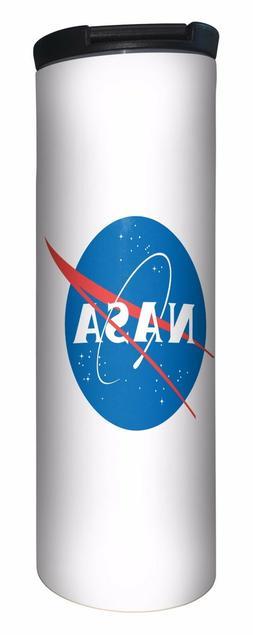 NASA Travel Mug. Keeps Hot/Cold 12 hours. Dishwasher safe. H