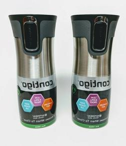 NEW! 16 oz Contigo AUTOSEAL West Loop Stainless Steel Travel
