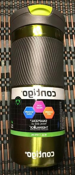 NEW Contigo Byron Snapseal 16 ounce Vacuum-Insulated Stainle