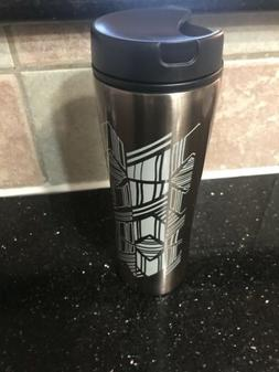 New Aladdin Cafe Collection Travel Mug Stainless Steel 16oz
