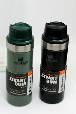 NEW Stanley Classic Trigger Action Travel Mug ~ 16 oz, in Gr