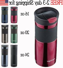 NEW Insulated Stainless Travel Coffee Mug Thermos Cup CHOOSE