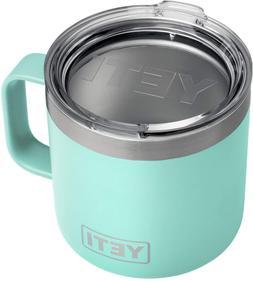 New YETI Rambler 14 oz Mug, Stainless Steel, Vacuum Insulate