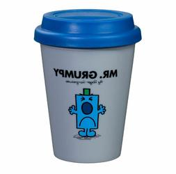 NEW MR MEN TRAVEL MUG 300ML COFFEE TEA ESPRESSO LID HOT DRIN