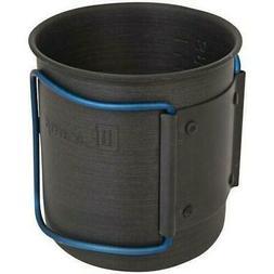 NEW Olicamp Travel Mug 330449 Blue Space Saver Hard Anodized