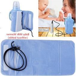 New USB Travel Mug Milk Warmer Heater Bottle Feeding Bottle