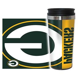 NFL Green Bay Packers Hype Travel Tumbler, 16-ounce, Green