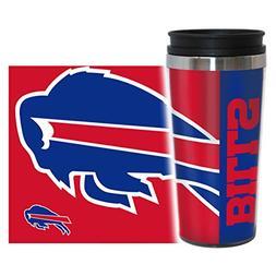 NFL Buffalo Bills Hype Travel Tumbler, 16-ounce, Red