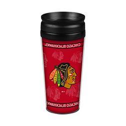 NHL Chicago Blackhawks Full Wrap Travel Tumbler, 14-ounce