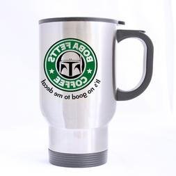 Nice Boba Fett's Coffee Mug - 100% Stainless Steel Material