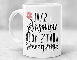 Novelty Coffee Mugs Funny Sayings 11oz - Veterinarian Mug, I