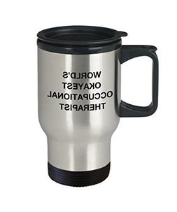 Occupational therapist Coffee Mugs - World's Okayest Occupat