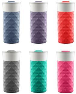 Ello Ogden BPA-Free Ceramic 16 oz Travel Mug with Lid, 6 Col