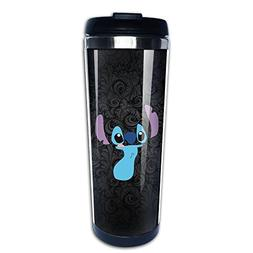 Ohana Stitch Shape Coffee Mug, Coffee Travel Mug, Coffee The