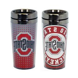 GAMEDAY OUTFITTERS OHIO STATE Buckeyes MUG TRAVEL DOT PATTER